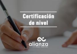 Certificación Alianza
