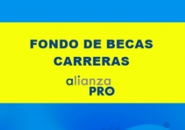 Fondo de becas/AlianzaPRO